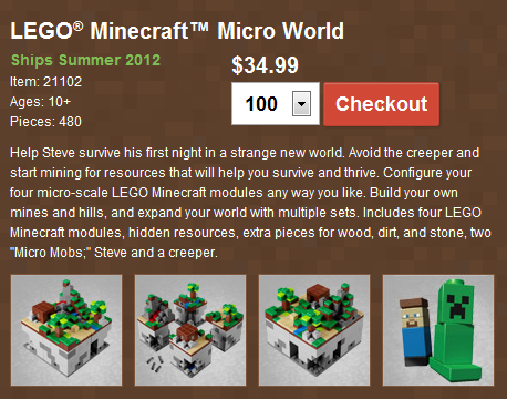 LEGO Minecraft Jinx