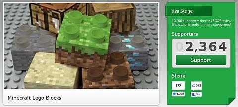 LEGO Minecraft �֥�å���