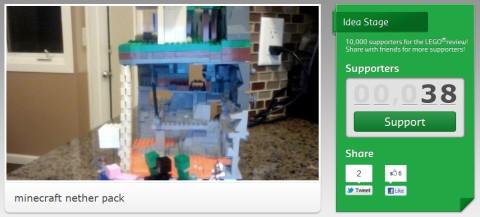 LEGO Minecraft 音ザーパック