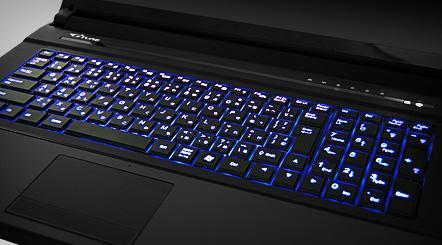 NEXTGEAR-NOTE i960 バックライトキーボード
