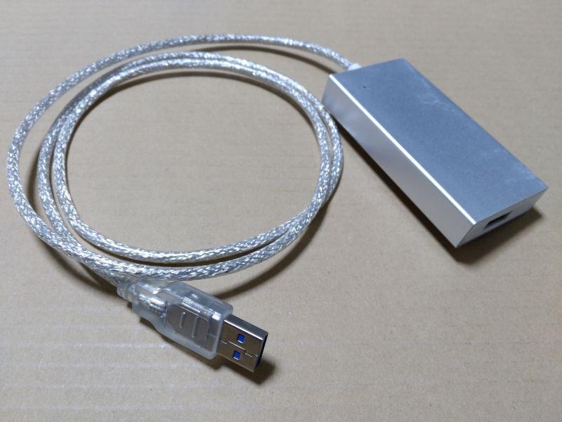 USB3.0 ノイズ対策ハブ 01