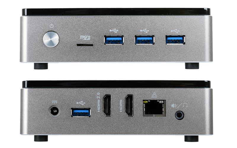 ECS LIVA Core ポート類